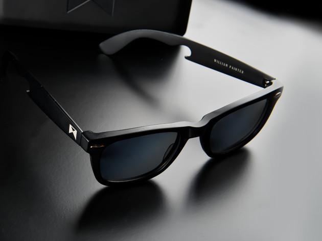 'The Hook' Titanium Sunglasses