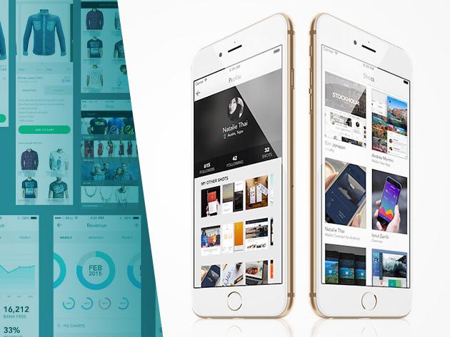 Mega - iOS App Design Kit