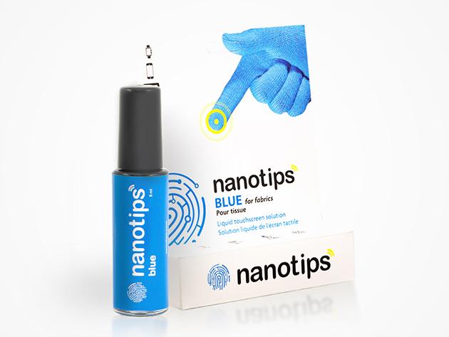 Nanotips Touchscreen Glove Tips (Fabrics & Fleece)