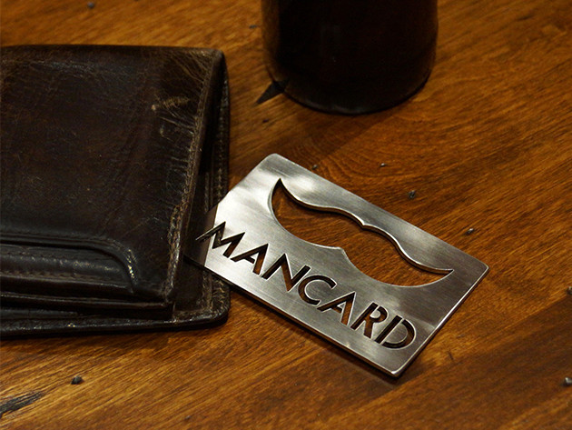 Man Card Bottle Opener: 2-Pack